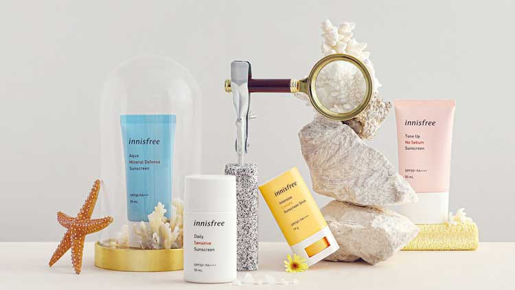 review kem chống nắng innisfree